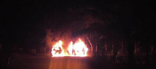 Підпал авто в Ужгороді не пов'язаний з подіями у Мукачеві, - МВС
