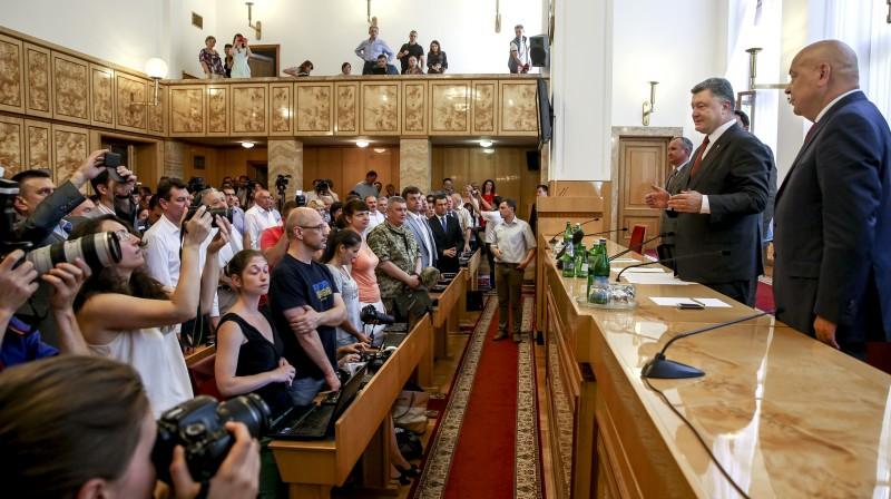 Цей сценарій Кремля є очевидним, – Порошенко під час представлення Москаля головою Закарпатської ОДА