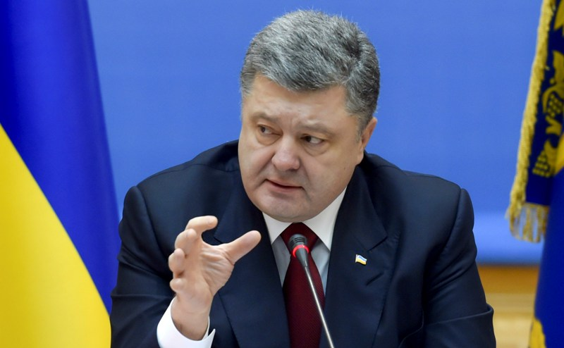 Петро Порошенко в ефірі центрального телеканалу розповів про події в Мукачеві