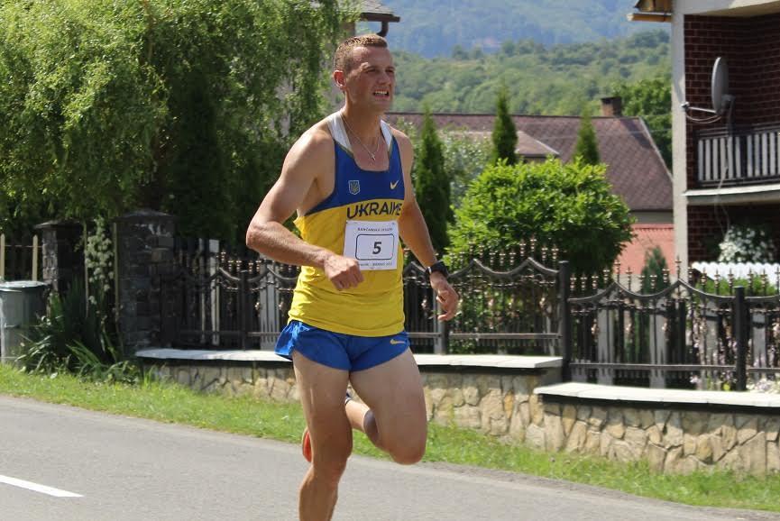 Мукачівець Сергій Расчупкін став переможцем легкоатлетичних змагань у Словаччині