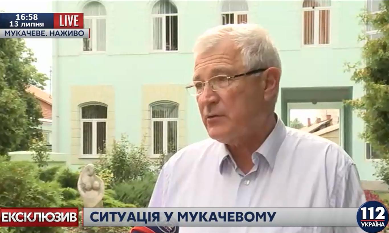 Втікачі-правосекторівці вже щонайменше за 100 кілометрів від міста, – мер Мукачева