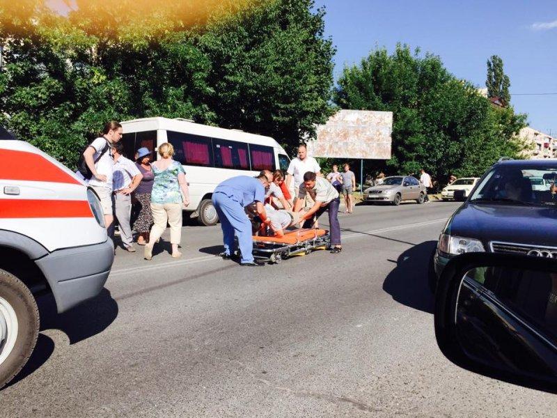 В Ужгороді автомобіль збив пішохода