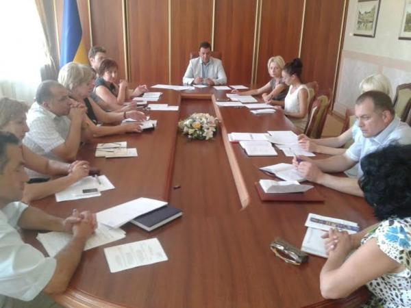 В ОДА відбулося засідання координаційної ради у справах дітей