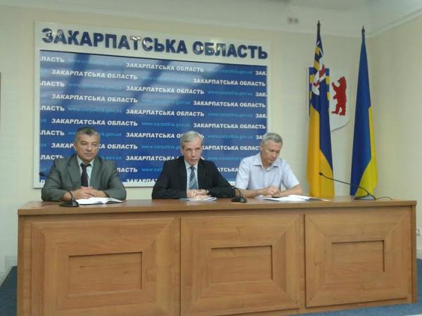 На Закарпатті з візитом перебуває заступник міністра екології та природних ресурсів України