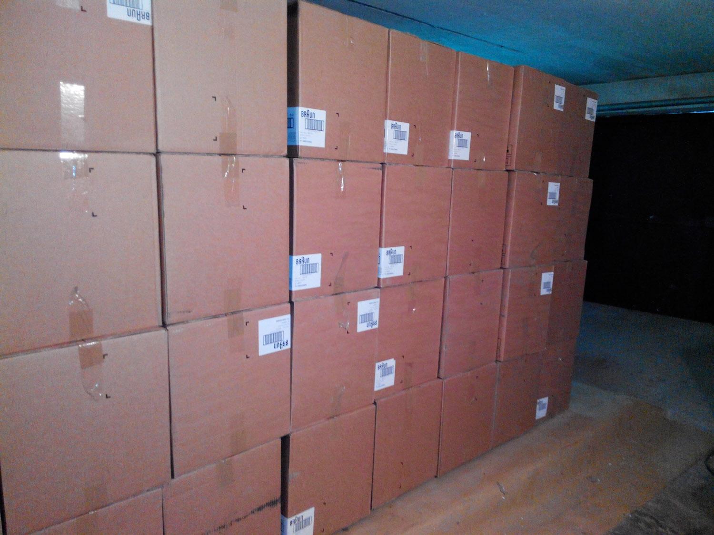 Обласні податківці вилучили контрабандних товарів на суму близько 800 тис. грн
