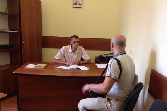 У Мукачеві представники МВС України провели прийом громадян