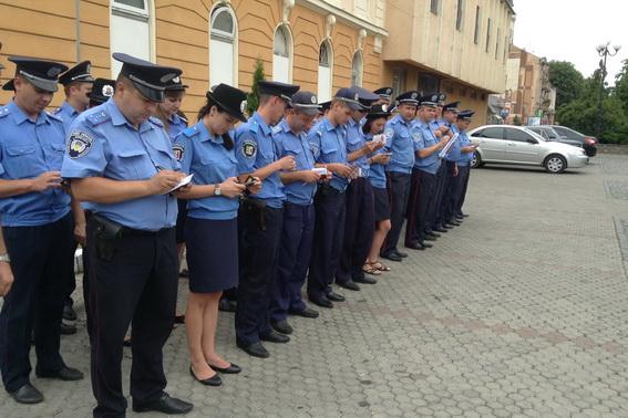 Протягом вихідних правоохоронці патрулюватимуть вулиці Мукачева у посиленому режимі