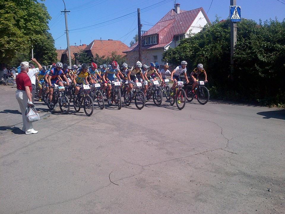 В Ужгороді стартував чемпіонат України з велоспорту