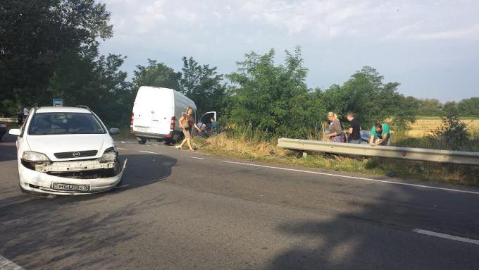 На Ужгородщині трапилася потрійна ДТП