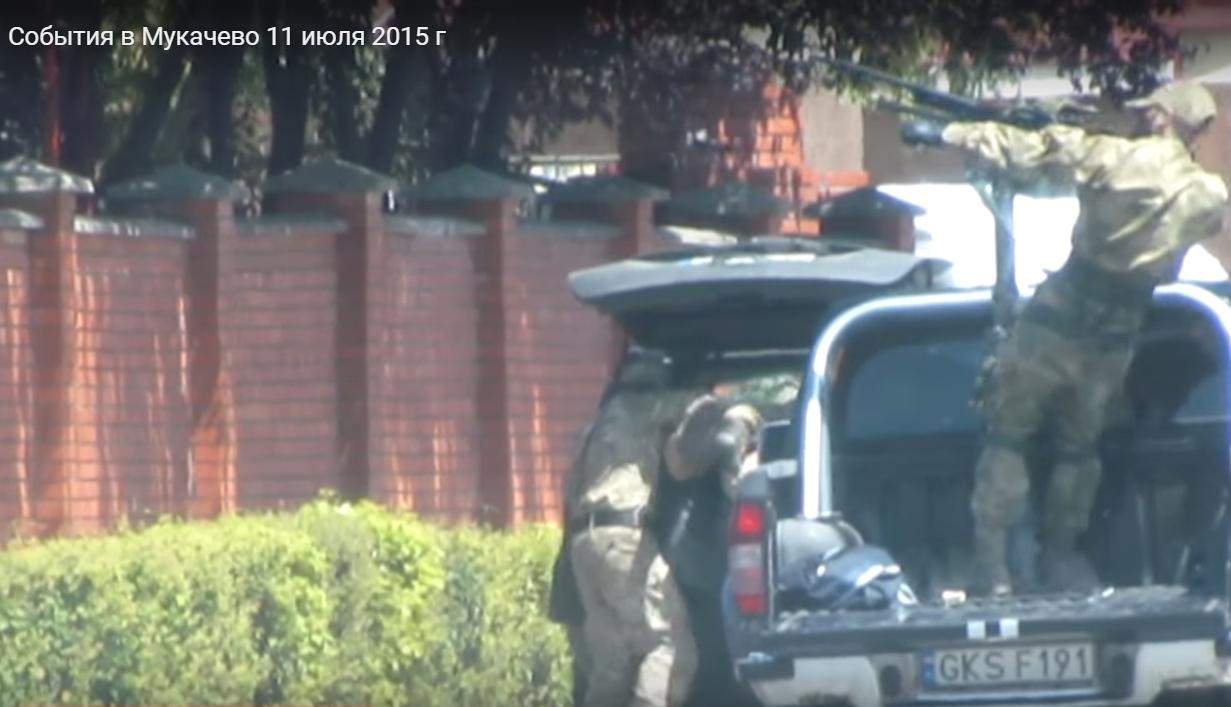 ТСК з подій у Мукачеві допитувала Мустафу Найєма щодо відео стрілянини, яке він виклав в мережу без будь-якого дозволу