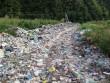 Мережу шокували фото великої кількості сміття неподалік центру Рахова