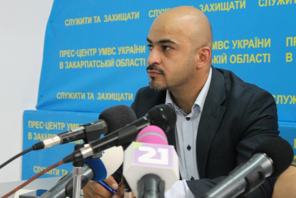 Зустріч з Мустафою Найємом в Ужгороді перенесена на завтра