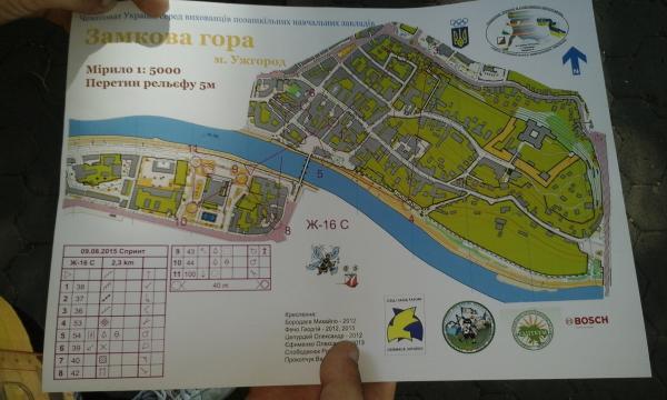 В Ужгороді пройшов фінал чемпіонату України зі спортивного орієнтування