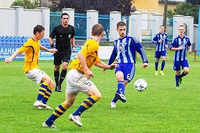 У Мукачеві молодіжка «Говерли» програла юнакам з київського «Динамо»