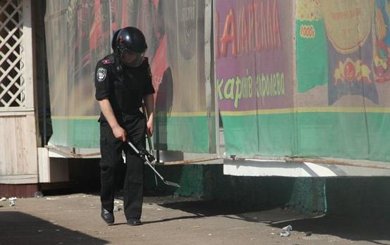 На Виноградівщині правоохоронці шукали вибухівку
