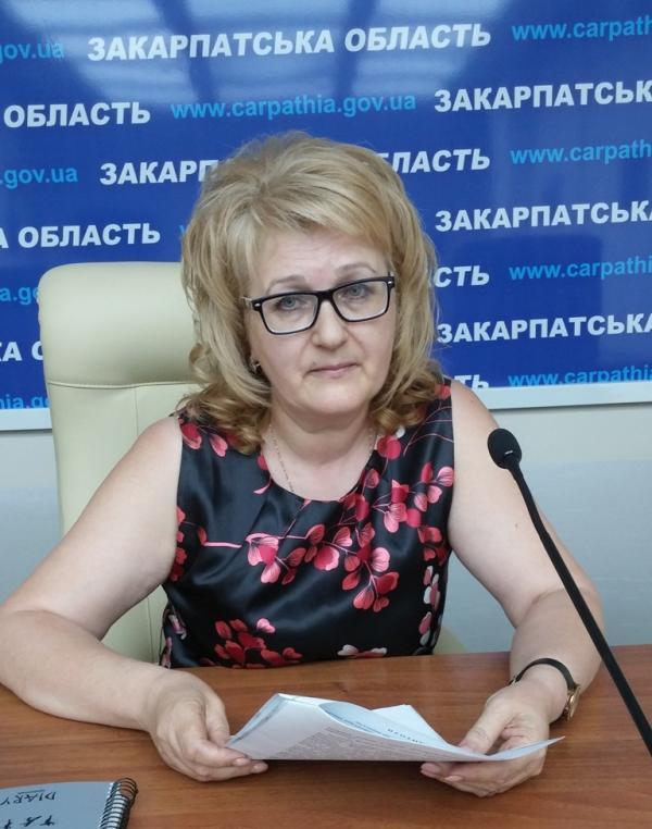 Понад 5 тисяч військовослужбовців із Закарпаття є учасниками АТО, – Наталія Омелянюк