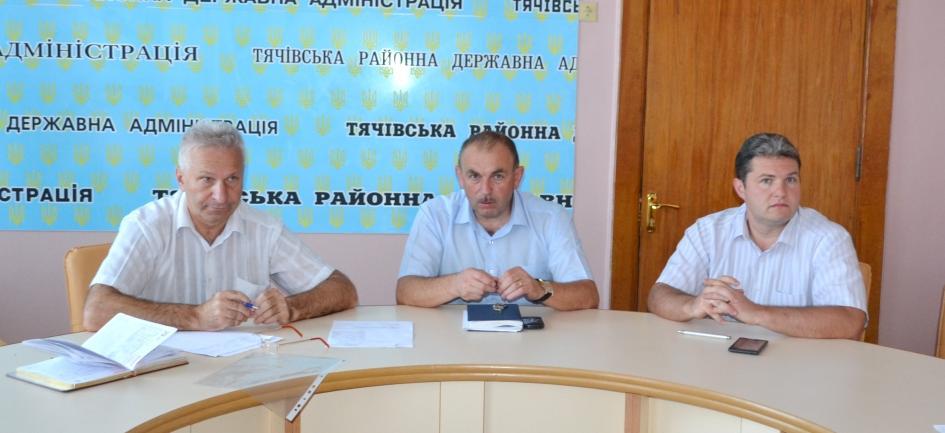 На Тячівщині відбулась нарада щодо підготовки бюджетної сфери району до роботи в осінньо-зимовий період