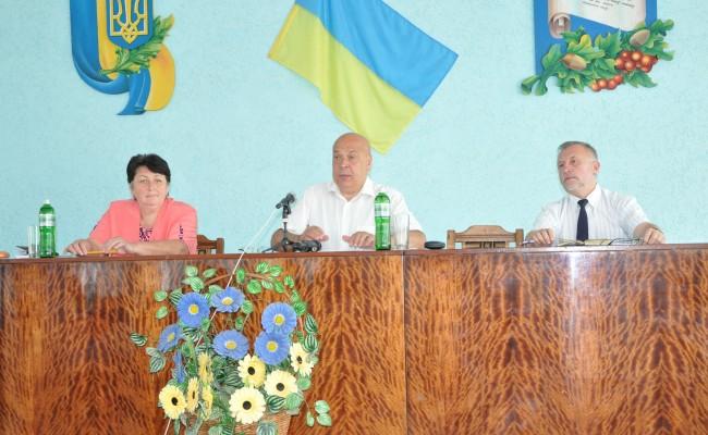 Геннадій Москаль представив нового голову Воловецької РДА Валентину Рогову