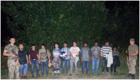 Місцеві жителі виявили неподалік кордону 10 нелегальних мігрантів
