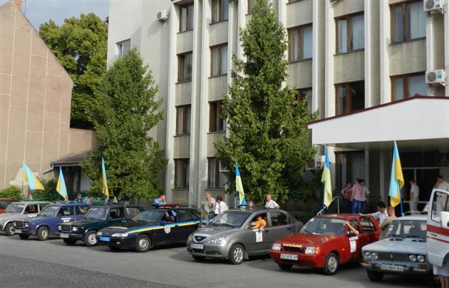 З нагоди Дня Незалежності України у Мукачівському районі відбудеться автопробіг