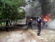 Ужгородські вогнеборці ліквідували пожежу в мікроавтобусі