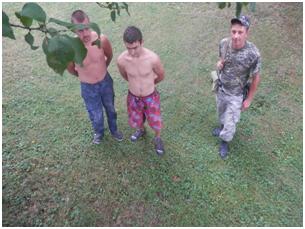 Закарпатські прикордонники затримали двох мігрантів з Рахівщини