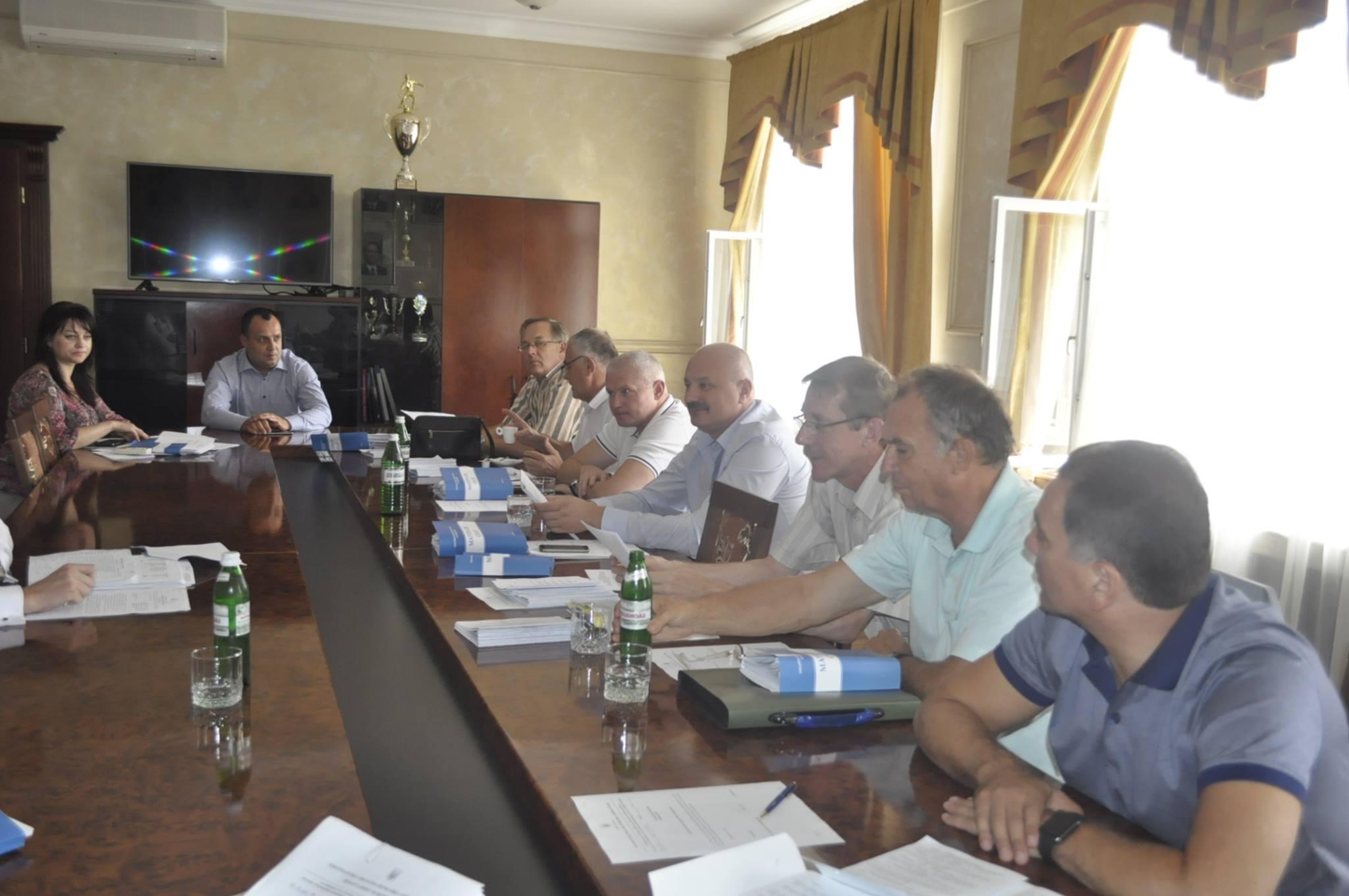 Обласні депутати обговорили план територій громад Закарпатської області