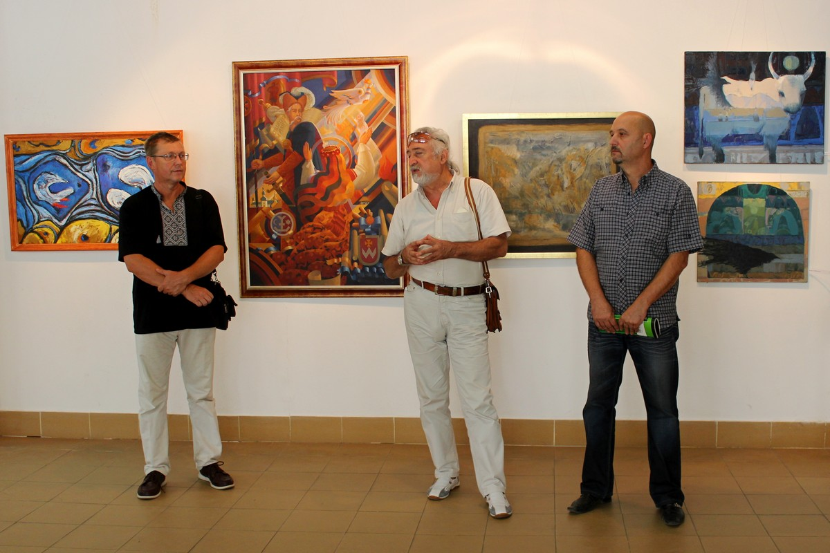 З нагоди Дня Незалежності в ужгородській галереї відкрили виставку робіт закарпатських художників