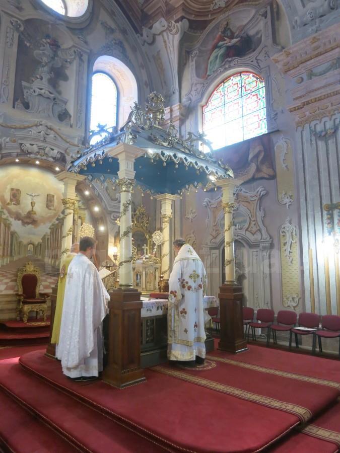 Ужгородські греко-католики помолились за Україну