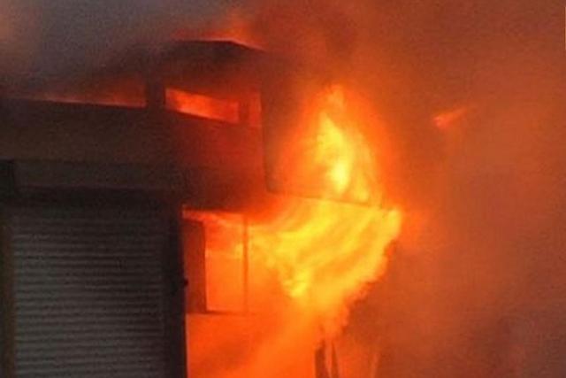 У Берегові вогонь пошкодив кіоск
