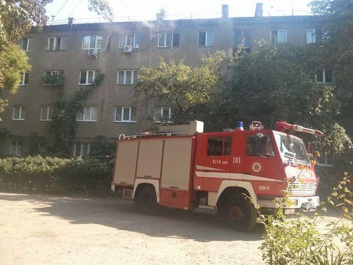 Вхідні двері підпалили у ще одній ужгородській квартирі