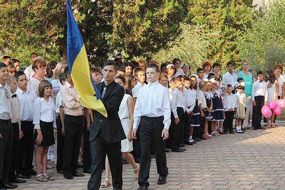 У День знань керівники Перечинської міліції відвідали місцеву школу-інтернат