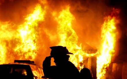 Сьогодні вночі на Хустщині трапилася пожежа