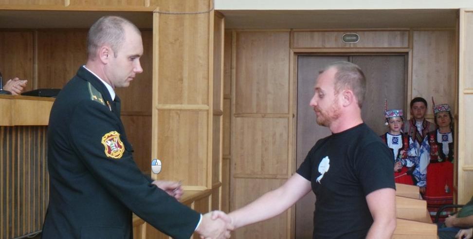 Ужгородських бійців АТО нагородили нагрудними знаками