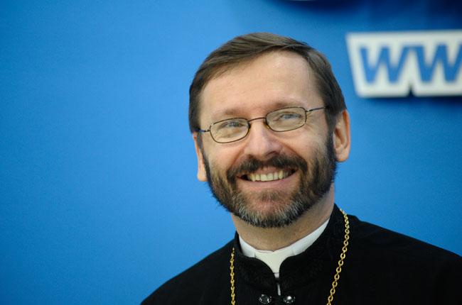 Глава УГКЦ владика Святослав Шевчук нагородив грамотою голову Закарпатської облради