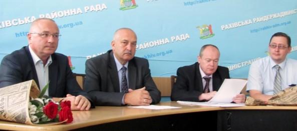 Новопризначений голова Рахівської РДА отримав своїх заступників