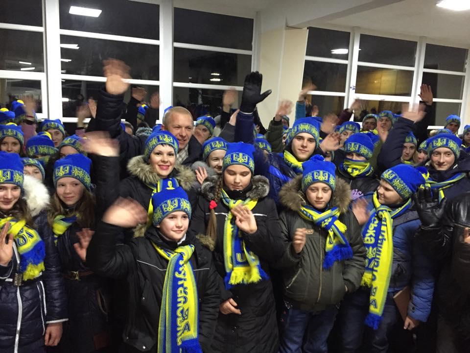 В Ужгород на різдвяні свята приїдуть діти із Луганщини
