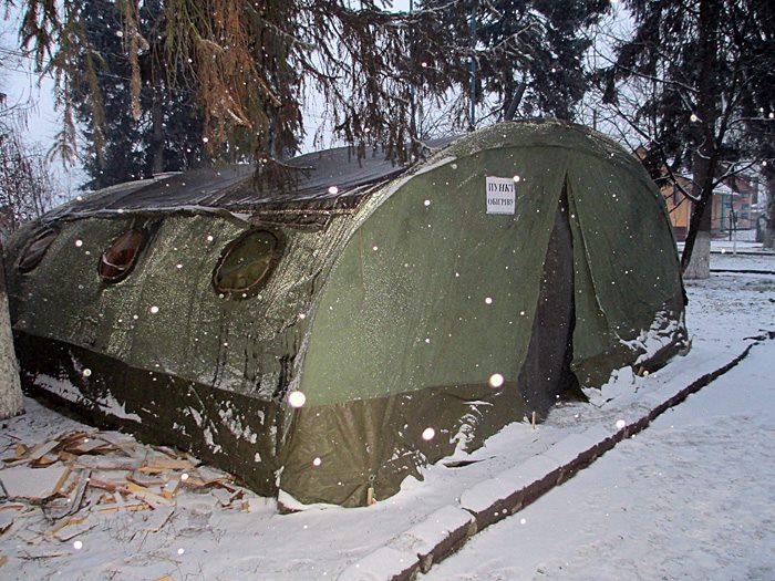 Знайти порятунок від холоду закарпатці мають змогу у понад двадцяти пунктах обігріву