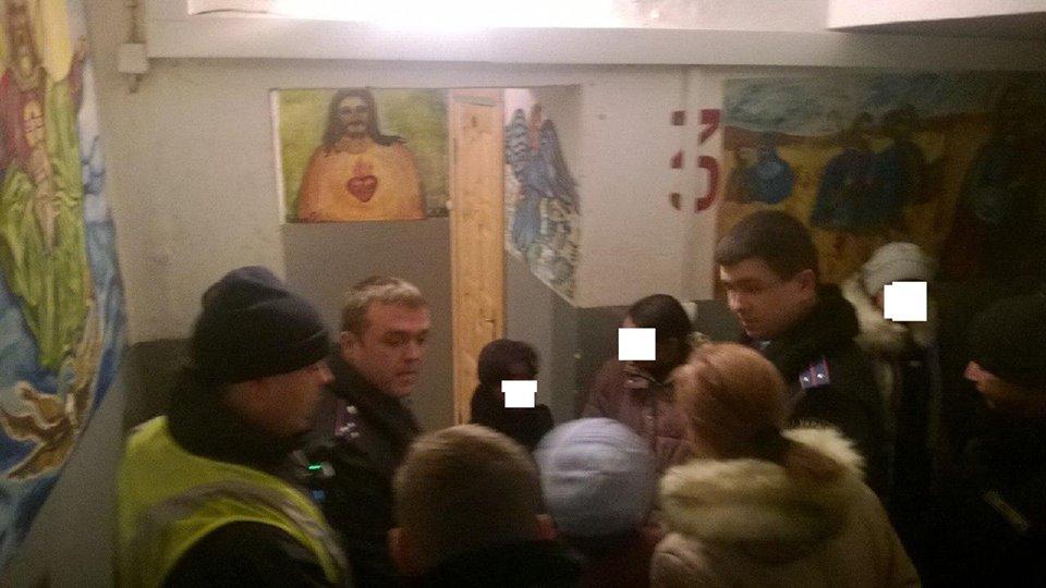 Ужгородські патрульні затримали колядників-крадіїв