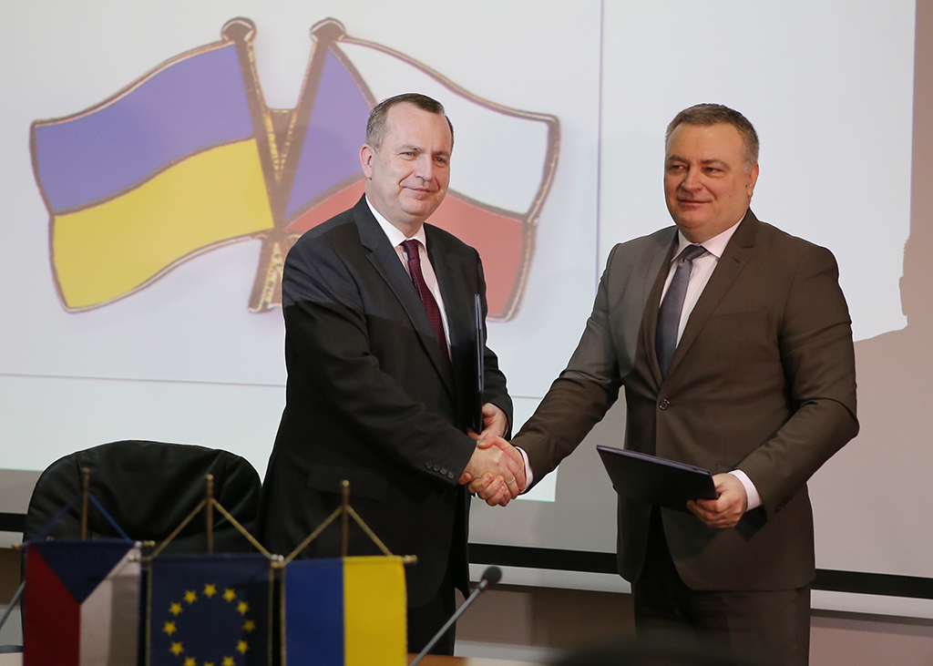 Керівники УжНУ та Карлового університету підписали угоду про співпрацю