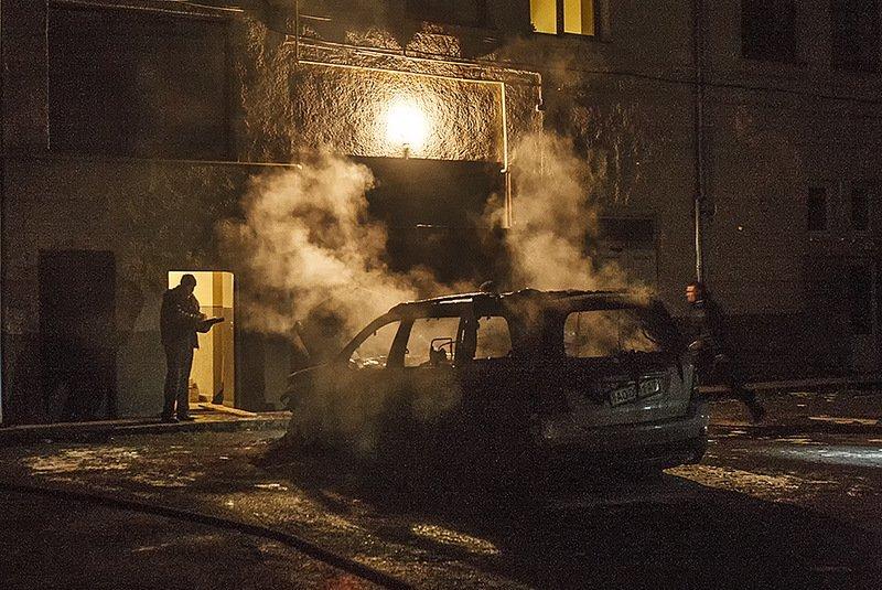 Екс-голові Закарпатської облради Володимиру Чубірку підпалили автомобіль