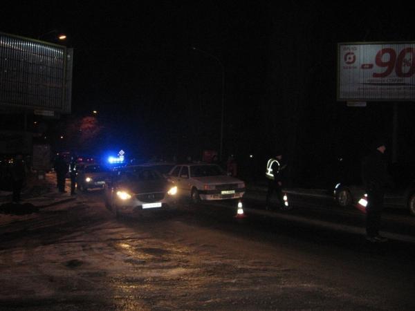 Неподалік транспортного мосту в Ужгороді сталась потрійна ДТП