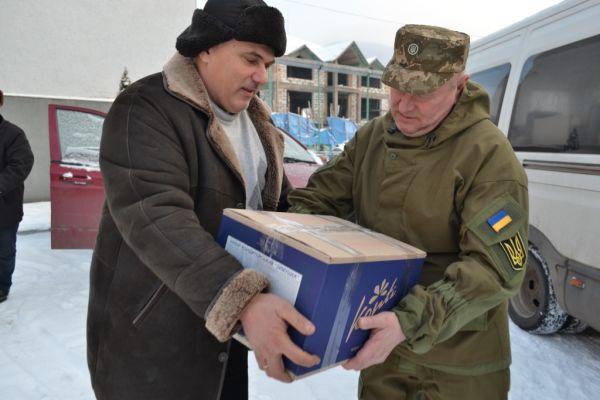 Тячівські волонтери відправили допомогу бійцям АТО