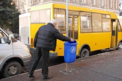 В Ужгороді планують витратити майже 200 тисяч гривень на придбання урн для сміття