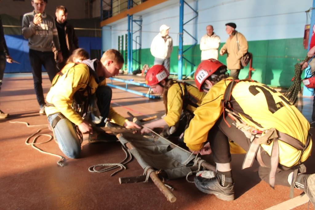 В Ужгороді відбувся Кубок Закарпатської області з пішохідного туризму в закритих приміщеннях