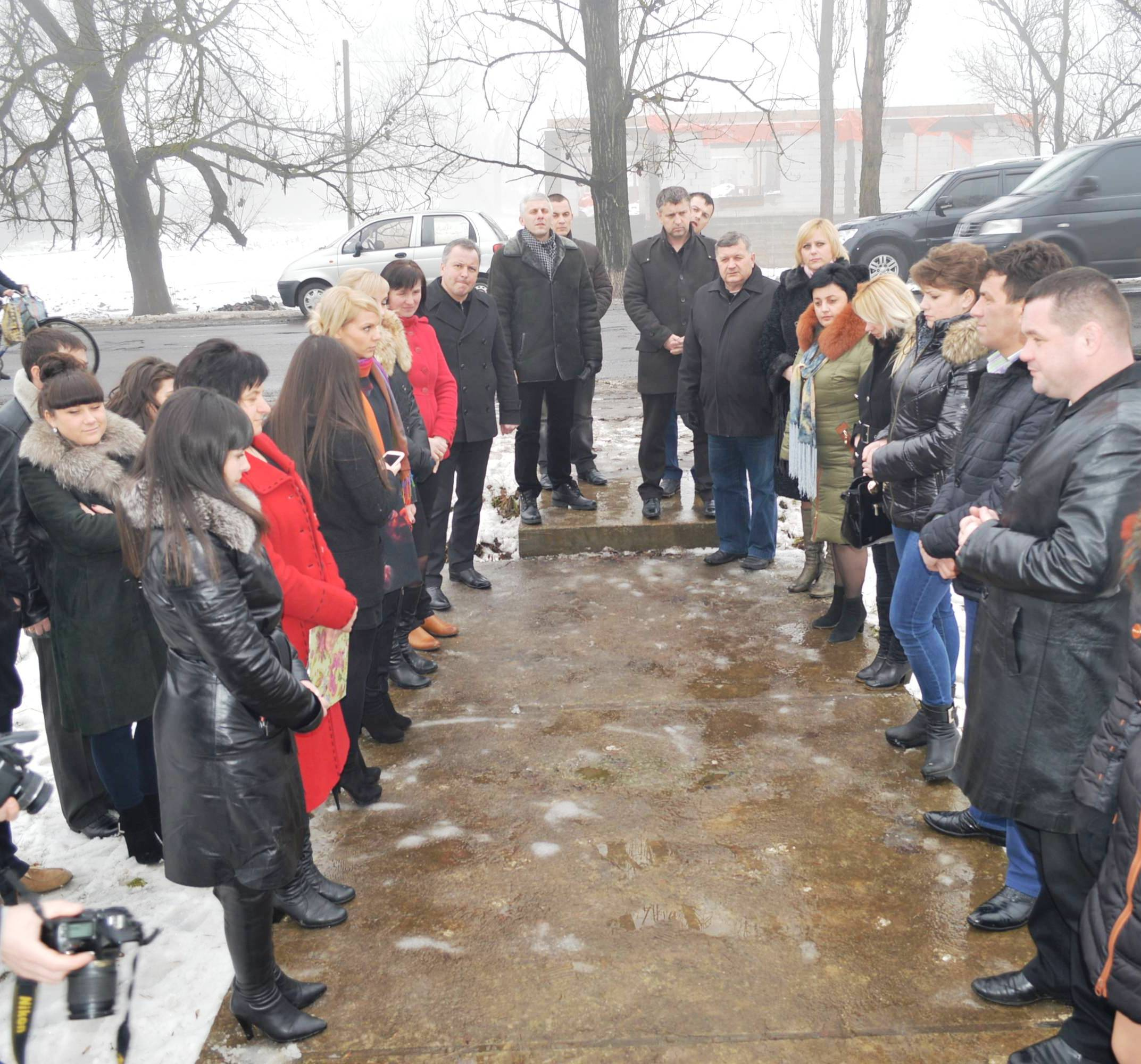 Мешканці Іршавщини вшановували пам'ять Героїв Крут