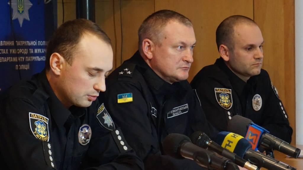 За січень патрульні поліцейські зафіксували в Ужгороді та Мукачеві 100 ДТП