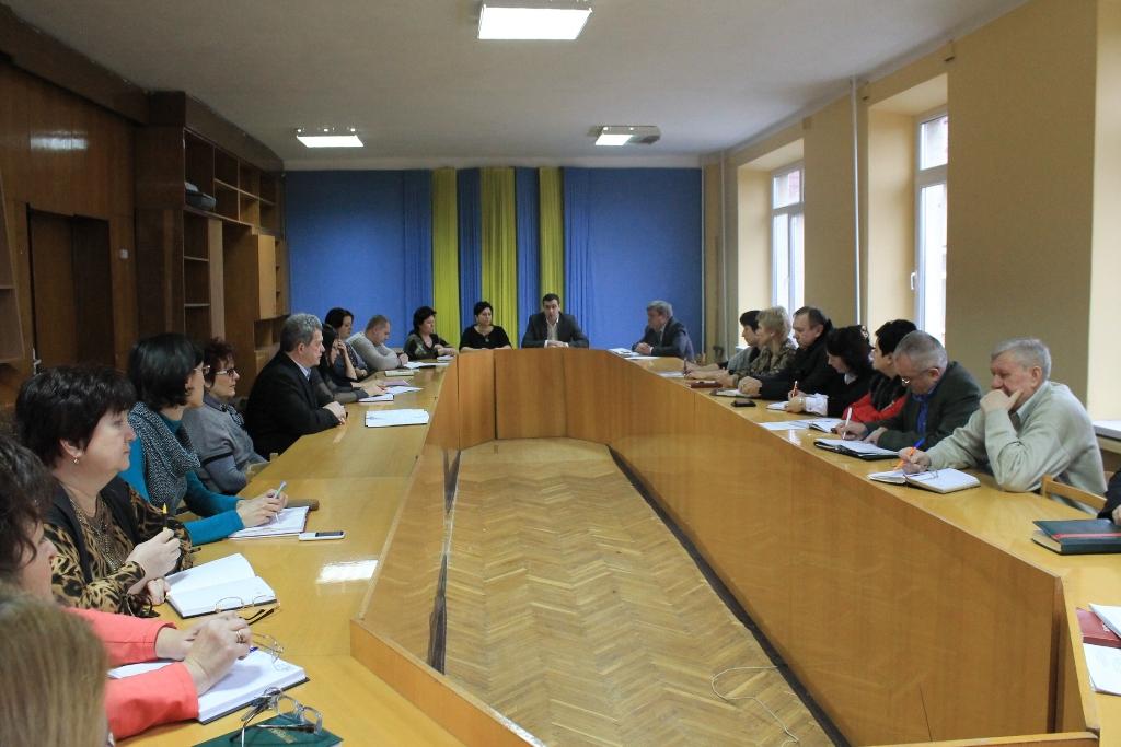 У Виноградові відбулася робоча нарада із керівниками структурних підрозділів райдержадміністрації