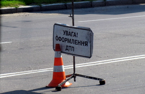 Ужгородські поліцейські шукають водія, який збив жінку і втік з місця події