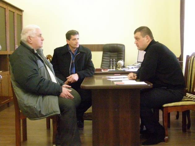 На Рахівщині заступник керівника обласної поліції провів прийом громадян